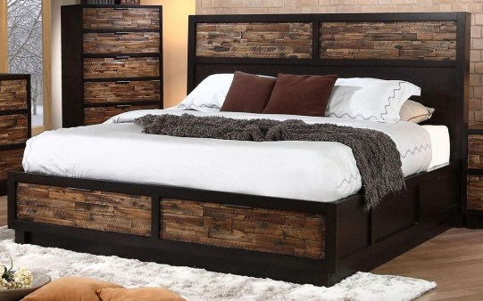 Lovely Diy Wooden Platform Bed Design Ideas 01
