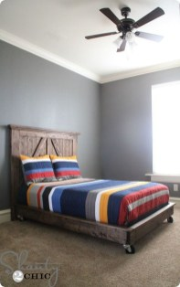 Lovely Diy Wooden Platform Bed Design Ideas 29