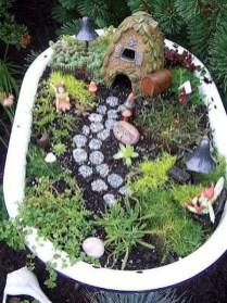 Magnificient Diy Fairy Garden Ideas With Plants 36
