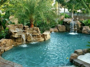 Perfect Mediteranean Swimming Pool Design Ideas 48