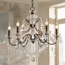 Pretty Chandelier Lamp Design Ideas For Your Bedroom 29
