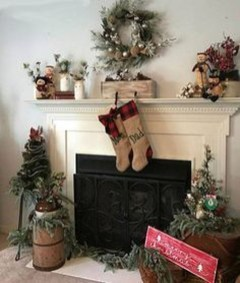 Romantic Rustic Christmas Decoration Ideas 12