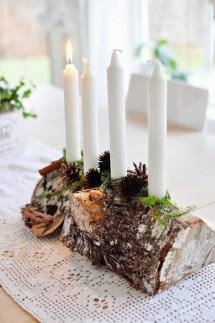 Romantic Rustic Christmas Decoration Ideas 18