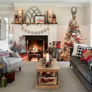 Romantic Rustic Christmas Decoration Ideas 29