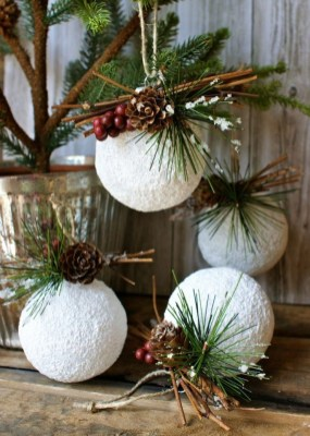 Romantic Rustic Christmas Decoration Ideas 42