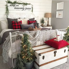 Romantic Rustic Christmas Decoration Ideas 51