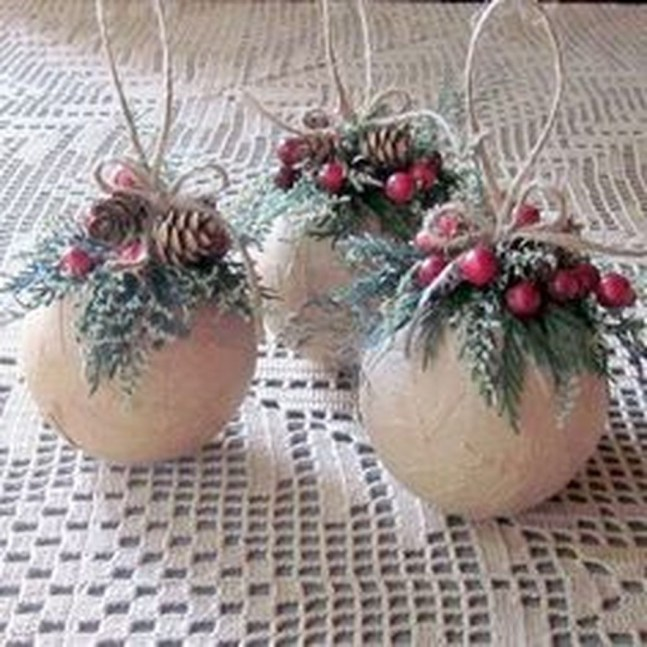 Romantic Rustic Christmas Decoration Ideas 53