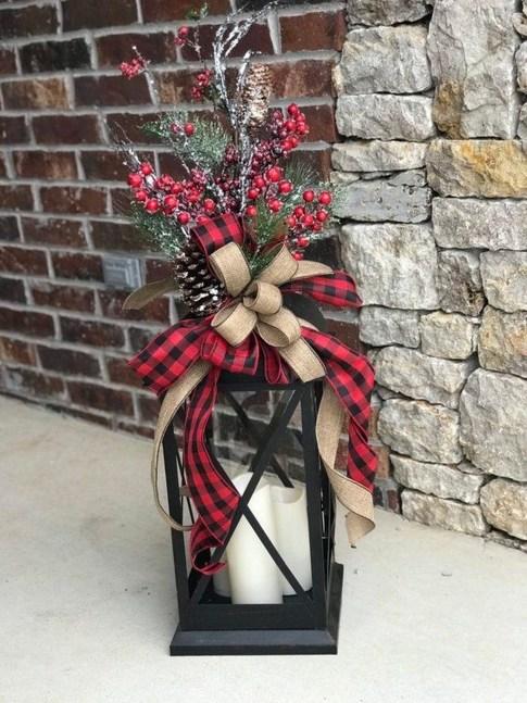 Romantic Rustic Christmas Decoration Ideas 54