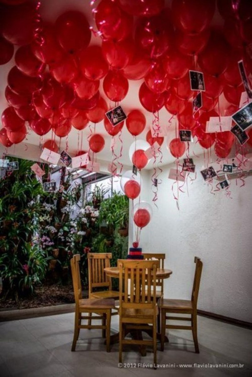 Stunning Red Home Decor Ideas For Valentines Day 01