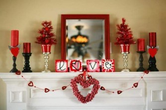Stunning Red Home Decor Ideas For Valentines Day 42