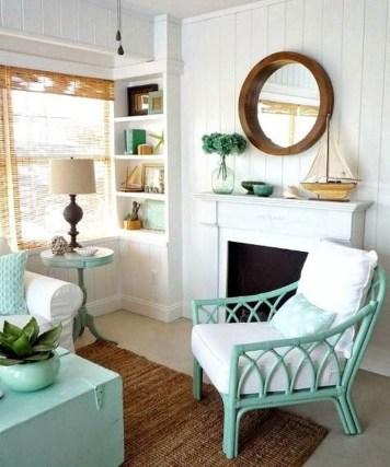Stylish Coastal Themed Living Room Decor Ideas 18