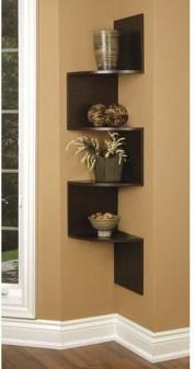 Amazing Corner Shelves Design Ideas 12
