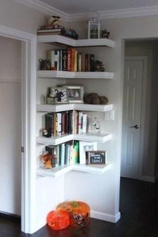 Amazing Corner Shelves Design Ideas 13