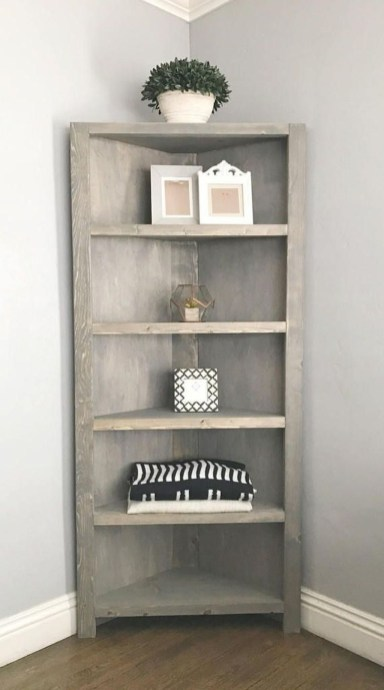 Amazing Corner Shelves Design Ideas 19