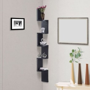 Amazing Corner Shelves Design Ideas 29