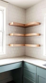 Amazing Corner Shelves Design Ideas 34