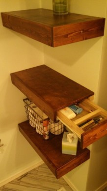 Amazing Corner Shelves Design Ideas 43