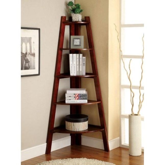 Amazing Corner Shelves Design Ideas 51