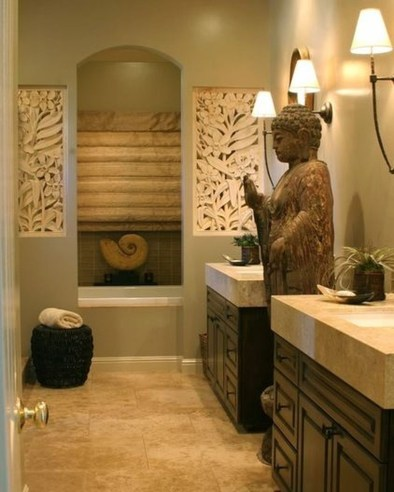 Comfy Traditional Bathroom Design Ideas With Japanese Style 05