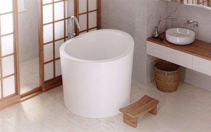 Comfy Traditional Bathroom Design Ideas With Japanese Style 20