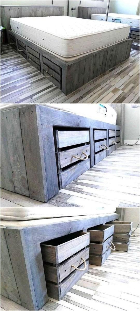 Elegant Diy Pallet Furniture Design Ideas 13