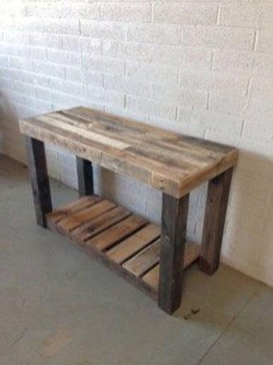 Elegant Diy Pallet Furniture Design Ideas 33