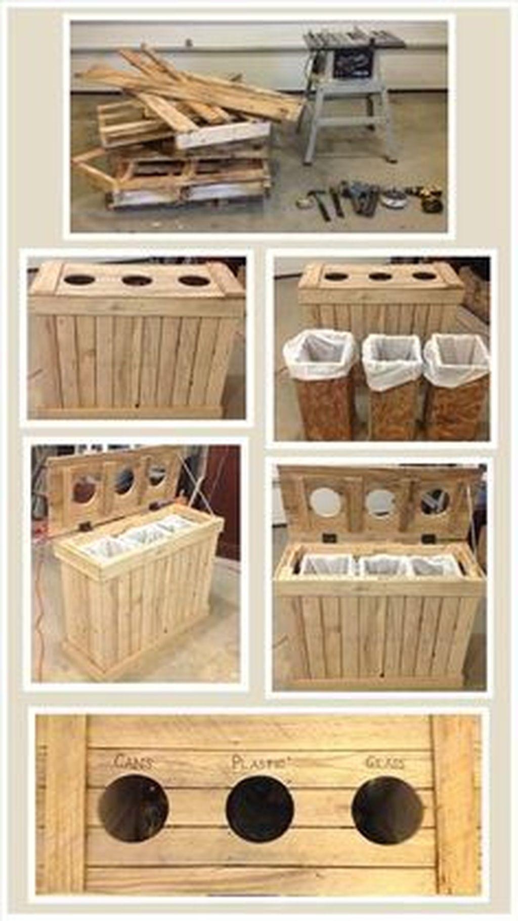 Elegant Diy Pallet Furniture Design Ideas 38