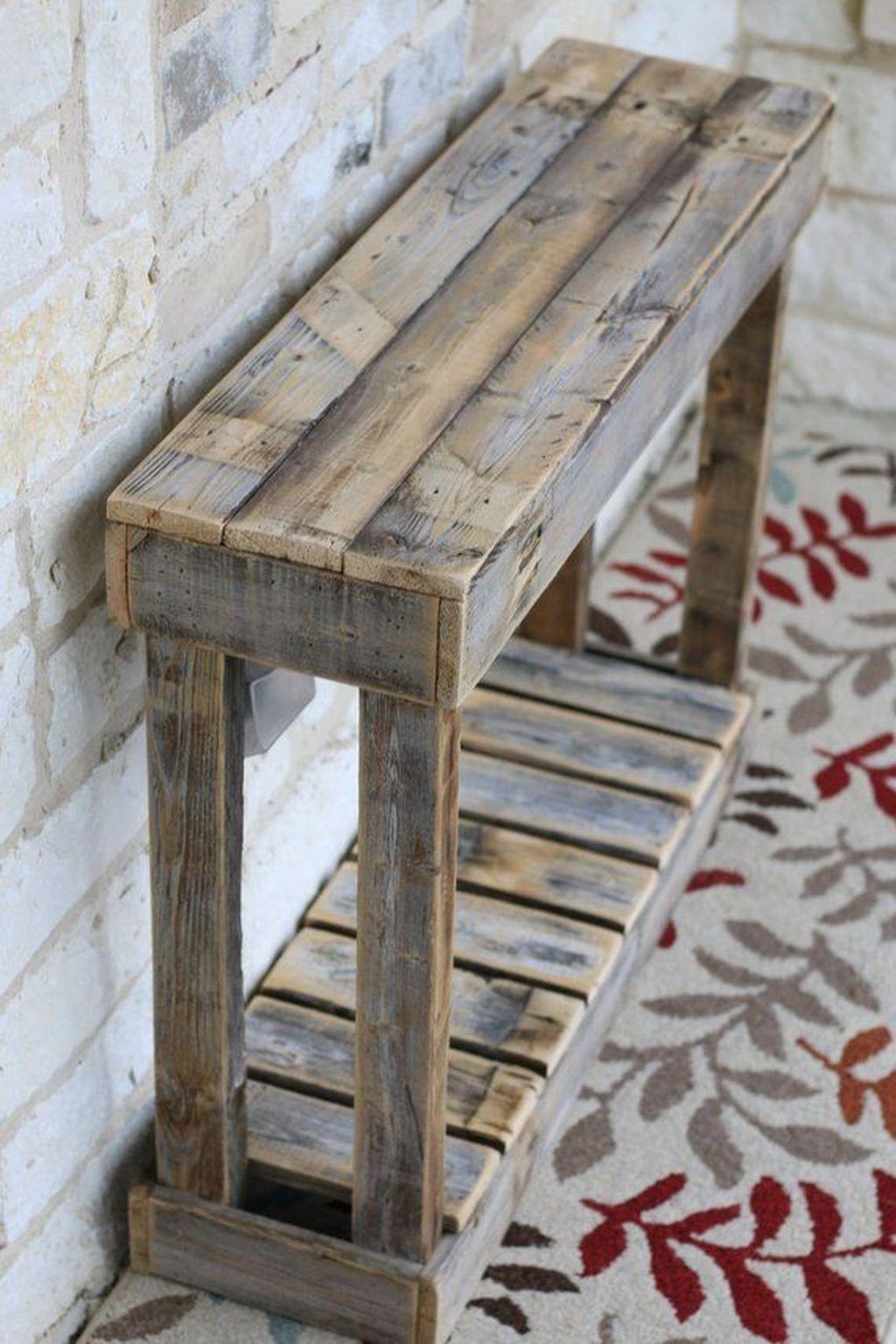 Elegant Diy Pallet Furniture Design Ideas 45