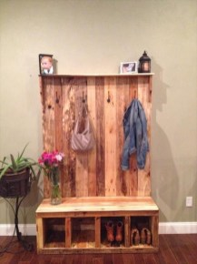 Elegant Diy Pallet Furniture Design Ideas 46