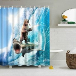 Fancy Shower Curtain Ideas 02