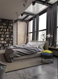 Fantastic Industrial Bedroom Design Ideas 32