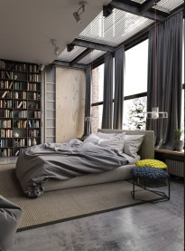 Fantastic Industrial Bedroom Design Ideas 32
