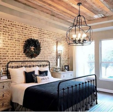 Fantastic Industrial Bedroom Design Ideas 36