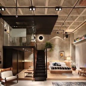 Fantastic Industrial Bedroom Design Ideas 50