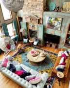 Fascinating Colorful Rug Designs Ideas For Living Room 09