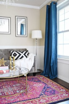 Fascinating Colorful Rug Designs Ideas For Living Room 15