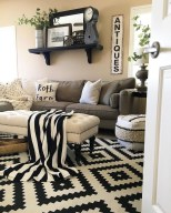 Fascinating Colorful Rug Designs Ideas For Living Room 25