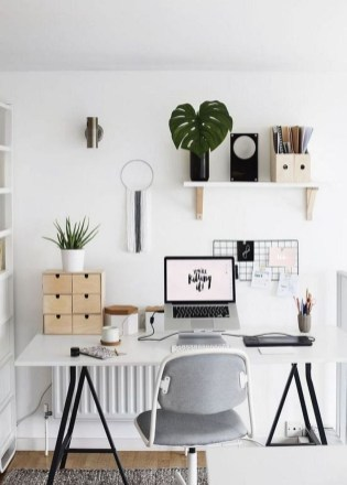 Gorgeous Industrial Table Design Ideas For Home Office 02