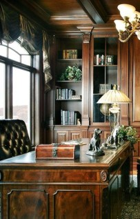 Gorgeous Industrial Table Design Ideas For Home Office 13