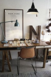 Gorgeous Industrial Table Design Ideas For Home Office 26