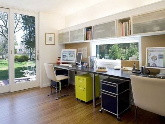 Gorgeous Industrial Table Design Ideas For Home Office 28