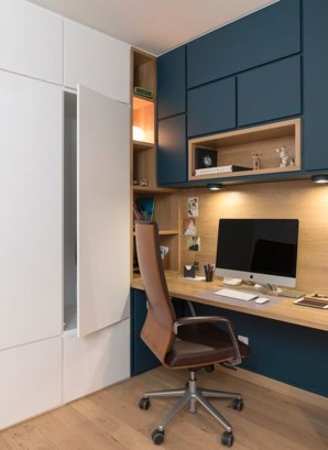 Gorgeous Industrial Table Design Ideas For Home Office 49