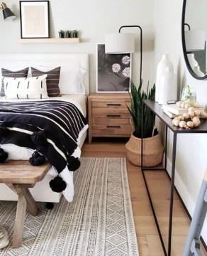 Lovely Boho Bedroom Decor Ideas 12