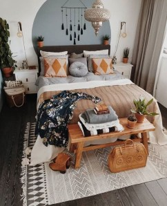 Lovely Boho Bedroom Decor Ideas 43