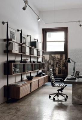 Magnificient Industrial Office Design Ideas 20