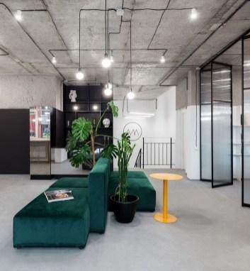 Magnificient Industrial Office Design Ideas 36
