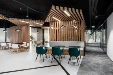 Magnificient Industrial Office Design Ideas 41