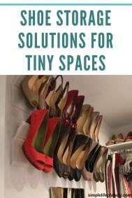 Minimalist Tiny Apartment Shoe Storage Design Ideas 33
