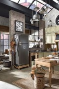 Perfect Industrial Style Loft Designs Ideas For Living Room 21