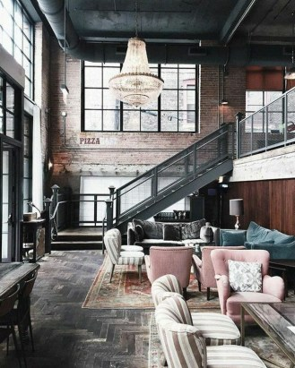 Perfect Industrial Style Loft Designs Ideas For Living Room 28